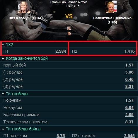 победа персонажа в кибер UFC